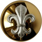 Duke of Lancasters Button, Mounted (40L)