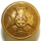 Royal Army Chaplains' Department Button, Gilt (22L)