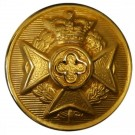 Royal Army Chaplains' Department Button, Gilt (24L)