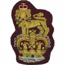 Beret Badge, Staff, Maroon
