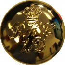 Blues & Royals Button, Gilt, Officers (40L)