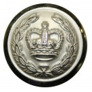 Deputy Lord Lieutenant Button, Screw Mounted (27L)