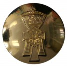 Yorkshire Regiment Button, Anodised (30L)
