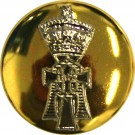 Yorkshire Regiment Button, Mounted (22L)