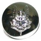 Special Air Service Button, Silver Anodised (30L)