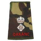 QARANC Rank Slides, CS95, (Col)
