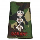 QARANC Rank Slides, CS95, (Hon/Col)