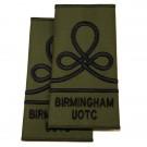 Birmingham UOTC Rank Slide (JUO)