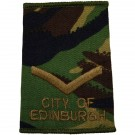 City of Edinburgn CS95 Rank Slides (L/Cpl)