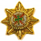 Irish Guards Officer Rank Star