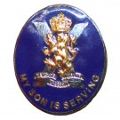 Royal Regiment Of Scotland Son Sweetheart Brooch