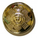 Scots Guards Button, Anodised (40L)