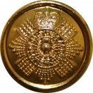 Scots Guards Button, Bright Electro Gilt, Officers (22L)