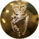 Irish Guards Button, Anodised (22L)