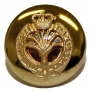 Welsh Guards Button, Mounted, Gilt (22L)