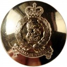 Adjutant General's Corps Button, Anodised (30L)