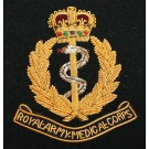 RAMC Wire Blazer Badge E11R