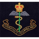 Royal Army Medical Corps Blazer Badge, 23 PARA, Wire