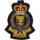 Royal Army Ordnance Corps Blazer Badge, E11R, Wire