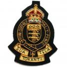 RAOC Wire Blazer Badge GV1R