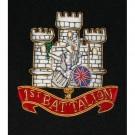 Royal Anglian 1st Battalion - Wire Blazer Badge