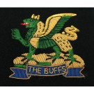 The Buffs Wire Blazer Badge