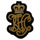 Royal Horse Guards Cypher Wire Blazer Badge