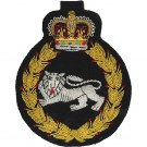 Kings Own Royal Border Regiment Blazer Badge, Wire