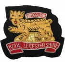 Royal Leicesters Blazer Badge, Tiger, Wire