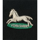 PWO Yorks Horse Wire Blazer Badge