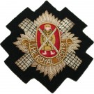 The Royal Scots Wire Blazer Badge