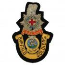 Royal Sussex / Queens (RAOB) - Wire Blazer Badge