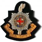 Royal Sussex Blazer Badge, RHQ Pattern, Wire