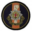 Royal Sussex Blazer Badge, Circular, Wire