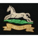 West Yorkshire Regiment Wire Blazer Badge