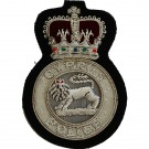 Cyprus Police Blazer Badge, Wire