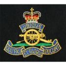 RA Silk Blazer Badge