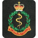 RAMC Silk Blazer Badge