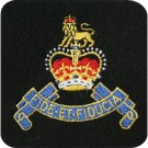 RAPC Silk Blazer Badge