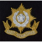 East Yorks Blazer Badge, Silk