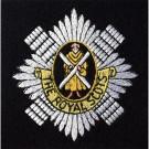 The Royal Scots Silk Blazer Badge