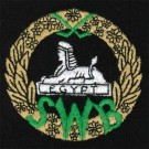South Wales Borderers Silk Blazer Badge