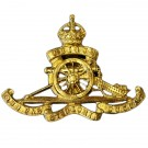 Royal Artillery Cap Badge, GV1R