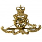 Royal Artillery Cap Badge, E11R, Moving Wheel