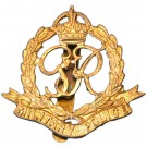 Royal Military Police Cap Badge, GV1R