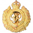 Royal Engineers Cap Badge, GV1R