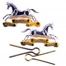 Light Cavalry Band Collar Badge