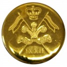 9th/12th Lancers Button, Blazer (Small)