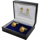 Royal Marine Gilt Cufflinks