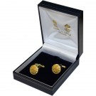 Scots Guards Gilt Cufflinks